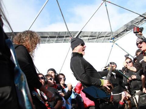 Metallica, una de las más reconocidas bandas de heavy metal del m...