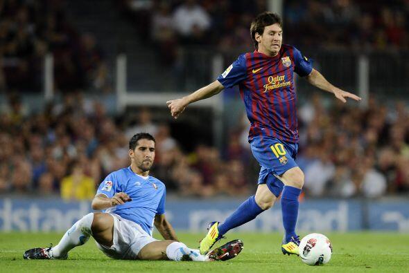 A los 4 minutos de comenzado el juego, el Barcelona se puso en ventaja g...