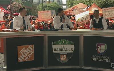"Juan ""Baby Bull"" Díaz representa a Houston en La Barra MLS"