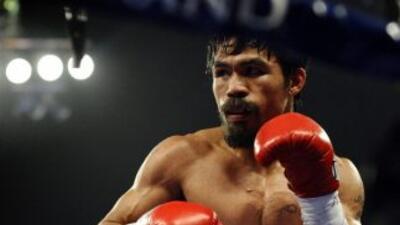 Manny Pacquiao podría pelear el 10 de noviembre.