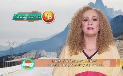 Mizada Capricornio 19 de mayo de 2017