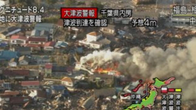 No se tiene un estimado de los grandes daños que ha dejado el terremoto...