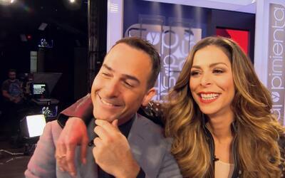 A Lourdes Stephen y a Carlos Calderón se les da la comedia de lo mejor y...