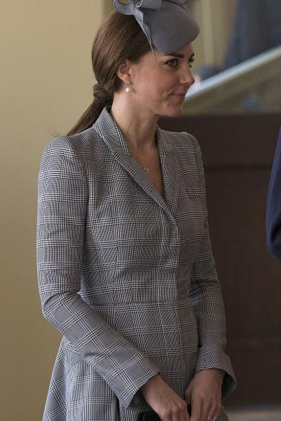 Kate ya superó el primer trimestre de embarazo.