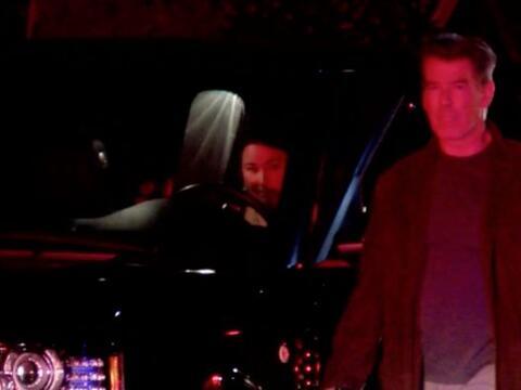 El actor de cine Pierce Brosnan vivió el infierno en carne propia.