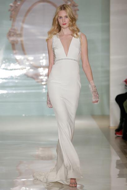 Un vestido con escote profundo es poco probable, pero sí puede es...