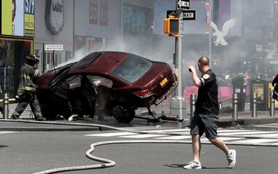 Alcalde de Nueva York descarta que el accidente en Times Square sea un a...