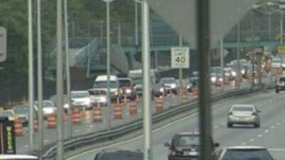 Congestion por reparaciones en el FDR Drive en Manhattan 009a59a18efa44f...