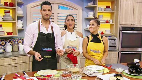 Jackie y Francisca compitieron por la aprobación del Chef Jesús y sus be...