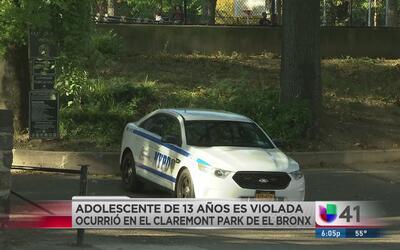 Una adolescente es víctima de una violación en el parque Claremont