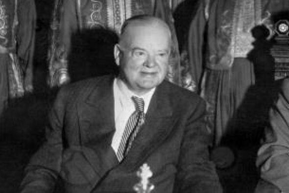 8. Herber Hoover dio un golpe al bonus de la armada en plena crisis. Era...
