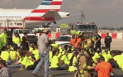 ¿Está preparado el Aeropuerto Internacional de Miami para una emergencia...