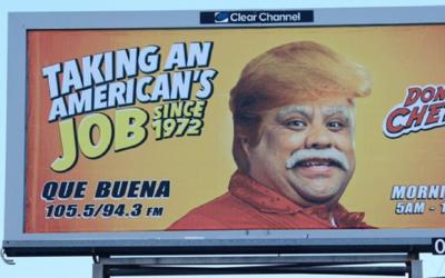 """""""Quitándole el trabajo a un americano desde 1972"""". As&i..."""