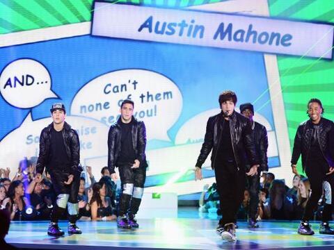 Austin Mahonie, el nuevo fenómeno musical se robó el 'show...