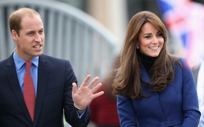 Kate Middleton y el Príncipe William en Escocia