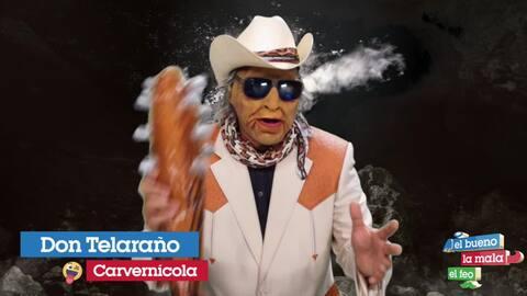 """""""Sin globito no hay fiesta"""", el consejo de Don Telaraño"""