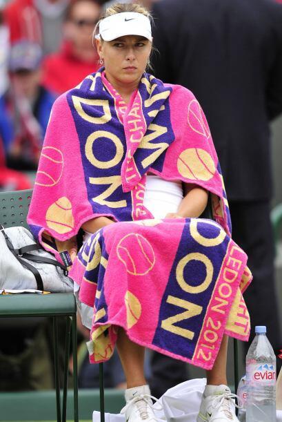 Sharapova perdió ante la alemana Sabine Lisicki en dos sets por 6...