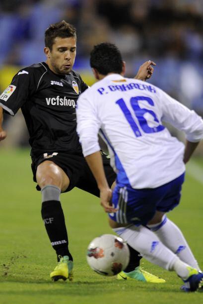 Pero el Valencia tenía algunas oportunidades de irse al frente, q...
