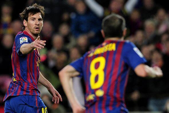 La sociedad Messi-Iniesta es letal.