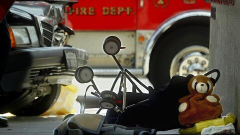 La imagen corresponde a un accidente ocurrido en Santa Ana en 2002.