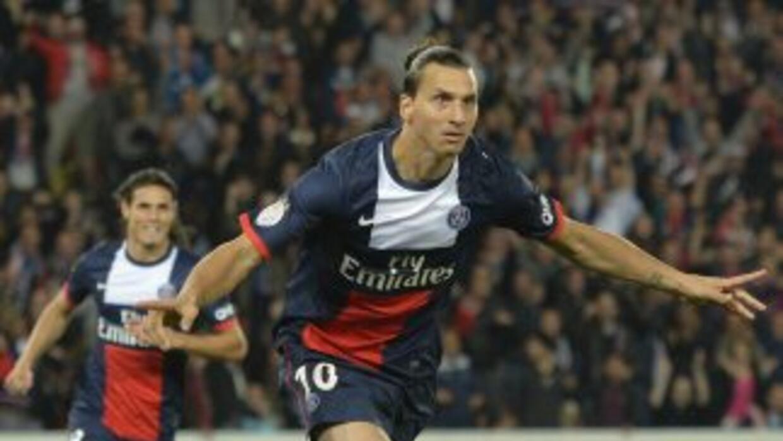 Zlatan convirtió par de anotaciones para encaminar la victoria de los pa...