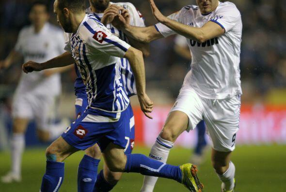 El Deportivo hizo un buen planteamiento defensivo y frenó a la of...