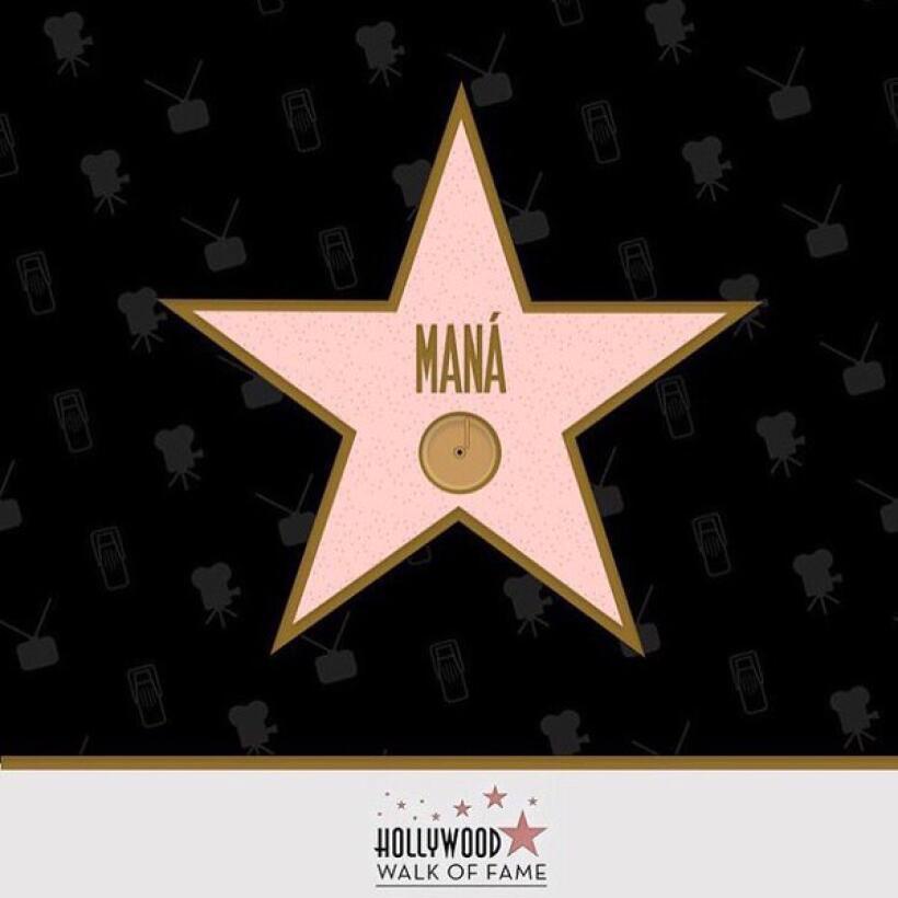 Maná recibe estrella