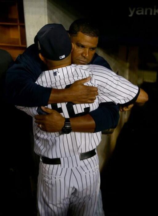 Los abrazos ocuparon buena parte del tiempo.