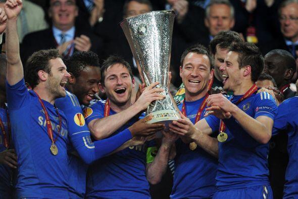 Lampard había dicho que, en caso de ganar la final, levantar&iacu...
