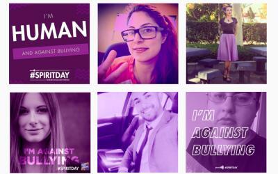 #SpiritDay convoca a usar el morado (o púrpura) para manifestarse...