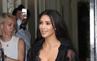 Vitalii Sediuk se le echa encima a Kim Kardashian