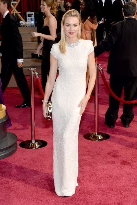 El color blanco ha sido protagonista de esta temporada. Naomi Watts apos...