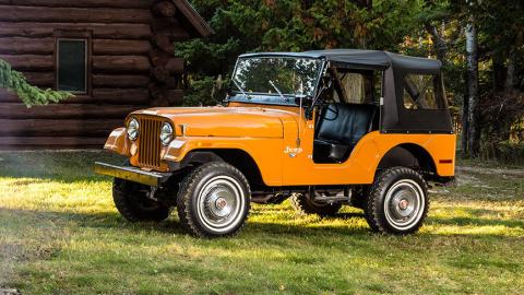 El Jeep CJ-5 fue producido entre 1956 y 1986