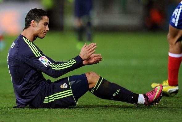Mal día para Ronaldo, la única puerta que vio fue la suya propia.