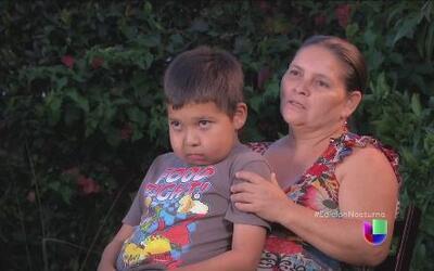 Una familia se debate entre la muerte y la deportación