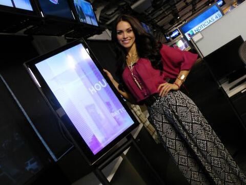 Bárbara Falcón, la representante de Texas en Nuestra Belle...