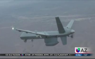 Drones al rescate de inmigrantes