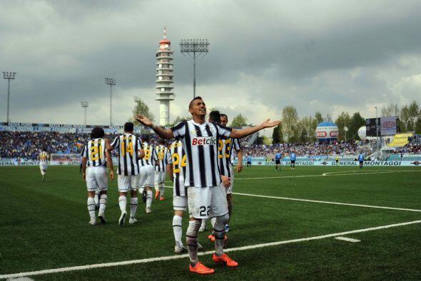 Sumó uno de los tantos de su equipo ante el Novara, con varias se...