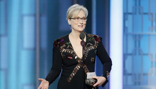 Al recibir un premio por su trayectoria, Meryl Strip criticó a Do...