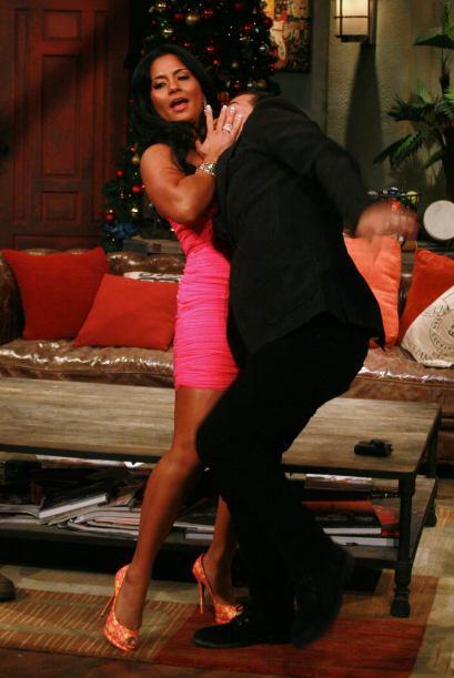 Y el ganón fue Carlos Calderón a quien lo intentó seducir Maripily.
