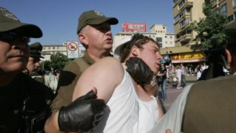 El hombre fue detenido en su domicilio en Talcahuano, en la región del B...