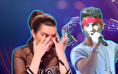 La Banda Extra Show 1: Lágrimas de la Pausini y un rap cautivó a los jueces