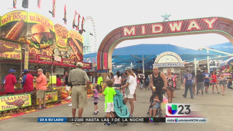 Todo listo para disfrutar la Feria Estatal de Texas