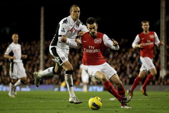Arsenal esperaba aumentar su ventaja, pero las jugadas ofensivas del clu...