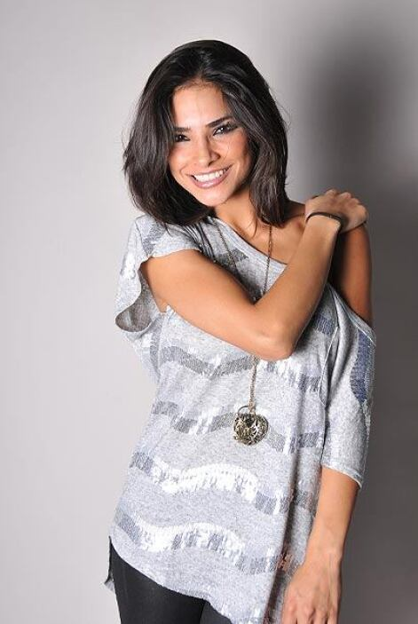Alejandra ha sido reconocida como Nuestra Belleza Latina.