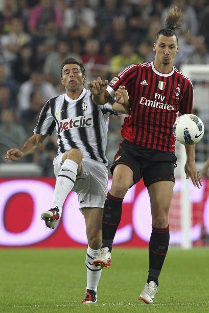 Zlatan Ibrahimovic hace años jugó con el cuadro de Tur&iac...