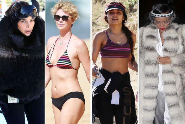 Algunas fueron captados en la playa luciendo bikinis mientras otras la p...