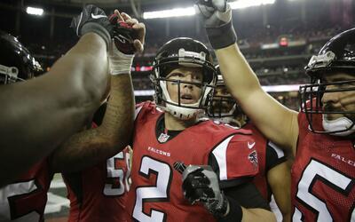 Matt Ryan guió a los Falcons a tener la segunda marca de la NFC.