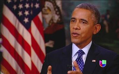 El presidente Barack Obama habla en Al Punto sobre la reforma migratoria
