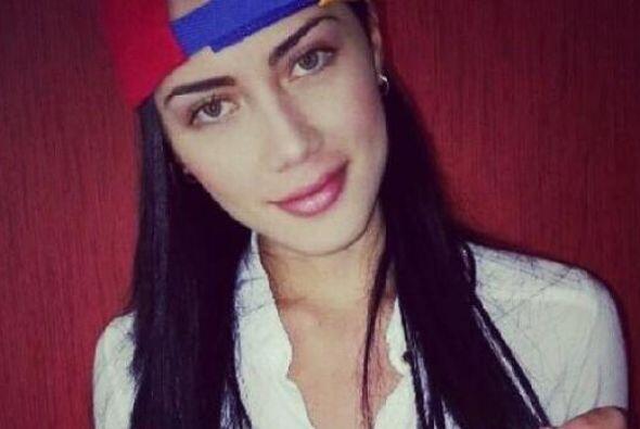 Georgina Mazzeo, Miss Tachira 2013, dijo que el que se cansaba, perd&iac...